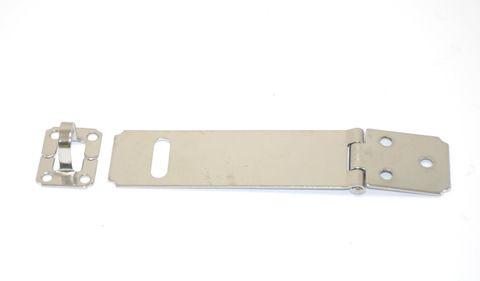 Hasp & staple s/s 115mm