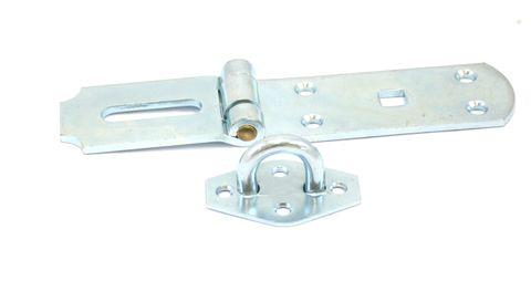 Hasp & staple H/duty z/p 200mmx4mm