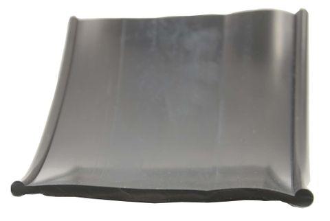 Rubber Pelmet Strip Black