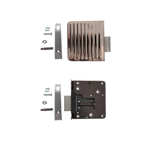 Door Lock L/H Hd C/W Chrome Cover Plate