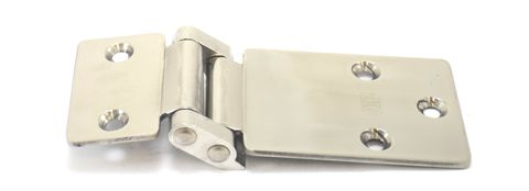 Hinge recessed double knuckle s/s
