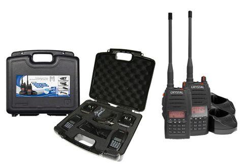 5W HANDHELD UHF CB RADIO - TWIN PACK