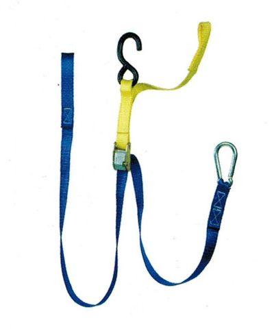 25MM X 1.7M Webbing C/W Hooks & S Hooks