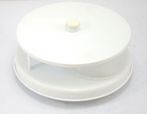 Rotary vent metal white
