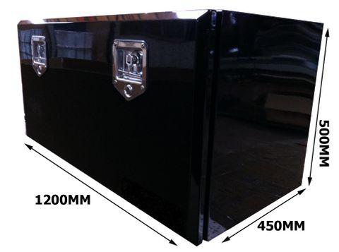 Toolbox Black Powder Coated 1200X500X450