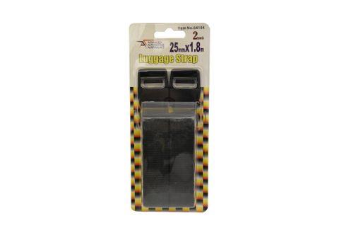 Luggage Straps 25MM X 1.8 Twin Pk