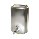 Dispenser Liquid Soap Verticle Stainless Steel 1.1lt