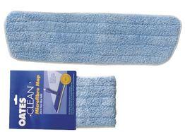 Mop Flat Oates 60cm Microfibre Mop Refill Blue