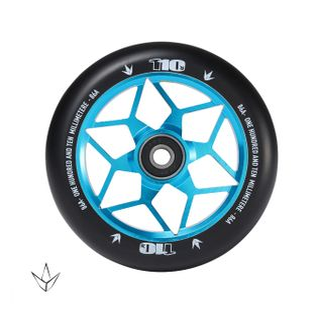110mm Wheel Diamond Teal