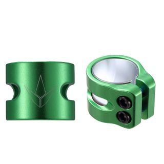 Oversized 2 Bolt Clamp Green