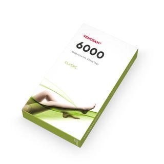 6001 THIGH HIGH AGH S SHORT O/TOE BEIGE