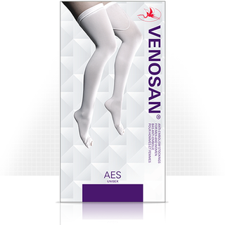 AES BELOW KNEE XXLARGE LONG WHITE