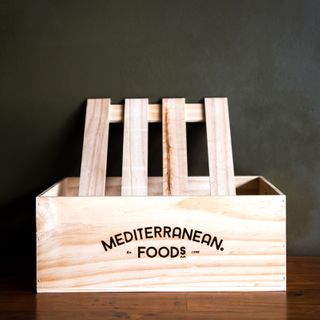 WOODEN GIFT CRATE LARGE