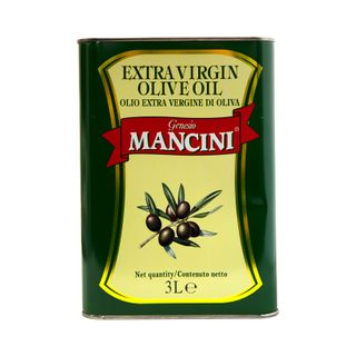 EXTRA VIRGIN OLIVE OIL 3 litre CAN (MANCINI)