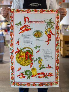 PEPERONCINO ITALIAN TEA TOWEL