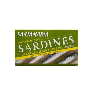 SARDINES IN EXTRA VIRGIN OLIVE OIL 120g