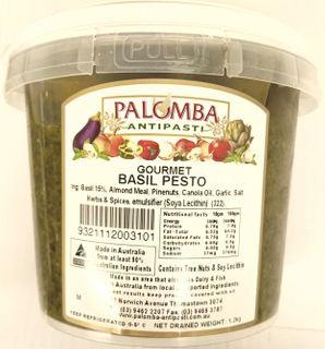 PESTO BASIL 1.2kg TUB