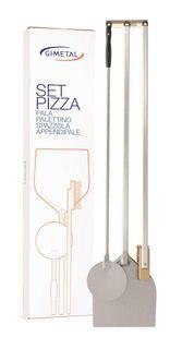 """COMPLETE PIZZA SET """"2"""" - 4 PIECES"""