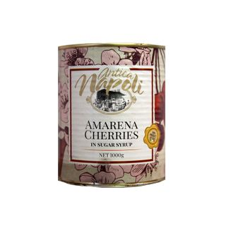 AMARENA CHERRIES IN SYRUP 1000g CAN
