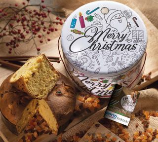 CLASSIC PANETTONE IN TIN TO COLOR 1Kg