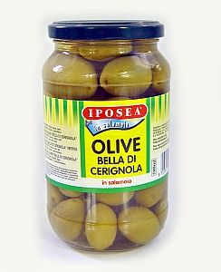 OLIVES GREEN DI CERIGNOLA 290g