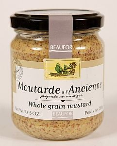WHOLE GRAIN MUSTARD 200gm