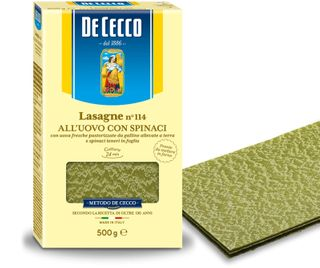 LASAGNE SPINACH ALL UOVO  (114) 500g