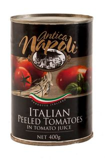 WHOLE PEELED TOMATOES 400g CAN