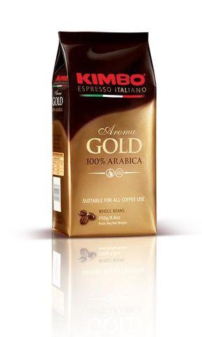 COFFEE ARABICA GOLD 100% BEANS 250g