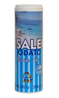 SEA SALT FINE ITALIAN 250g SHAKER