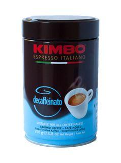 COFFEE DECAFFEINATO GROUND 250g TIN