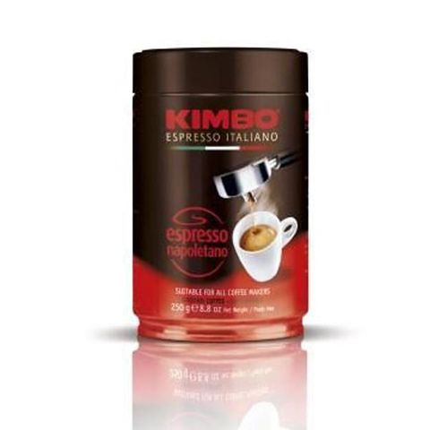 COFFEE ESPRESSO NAPOLITANO GROUND 250g TIN