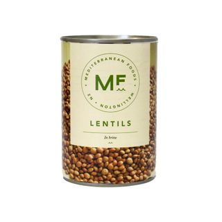 BROWN LENTILS 425ml CAN