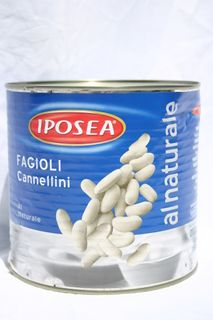 CANNELLINI BEANS 2.5kg CAN