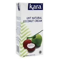 COCONUT CREAM 1litre KARA TETRA PACK