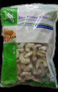 PRAWN MEAT RAW 60/80 1KG BAG