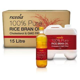 RICEOLA OIL 15 LITRE BOX/BLADDER