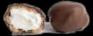 PROFITEROLES (PUFFS) VANILLA CHOCOLATE COATED 111 PIECES EMMA JANE