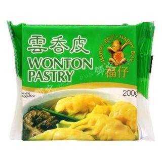 WONTON PASTRY SHEETS (100 SHEETS)