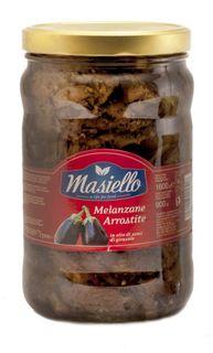EGGPLANT GRILLED IN OIL 1.6 kg JAR MASIELLO