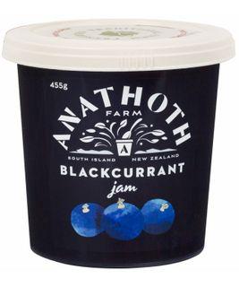 BLACKCURRANT JAM 455g ANATHOTH