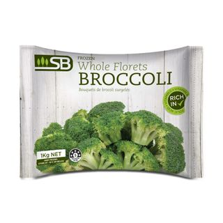 BROCCOLI 1kg FROZEN BAG SB