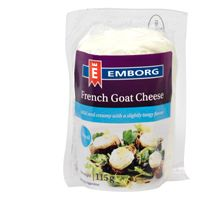 GOAT CHEESE FRENCH NATURAL 1KG LOG
