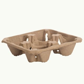 CUP CARRIER TRAY 4 CUP (100 SLEEVE) ECOWARE
