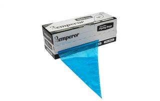 """PIPING BAGS BLUE 18"""" - 230 X 450mm (100 PACK) EMPEROR"""