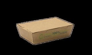BOX SMALL TAKE AWAY (50 SLEEVE) GREEN CHOICE