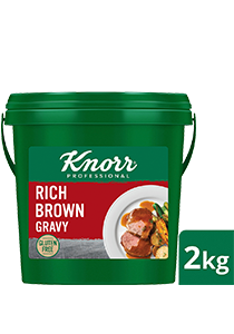BEEF RICH BROWN GRAVY MIX GLUTEN FREE 2KG KNORR