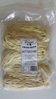 FETTUCINE - PLAIN 1kg FRESH/FROZEN