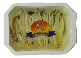 ANCHOVY FILLETS WHITE 200g TRAY