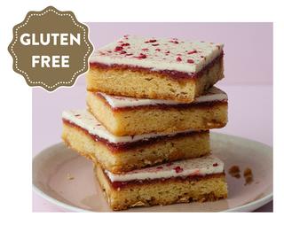 BLONDE-BERRY BROWNIE SLAB GLUTEN FREE (1.9KG) ORIGINAL FOODS
